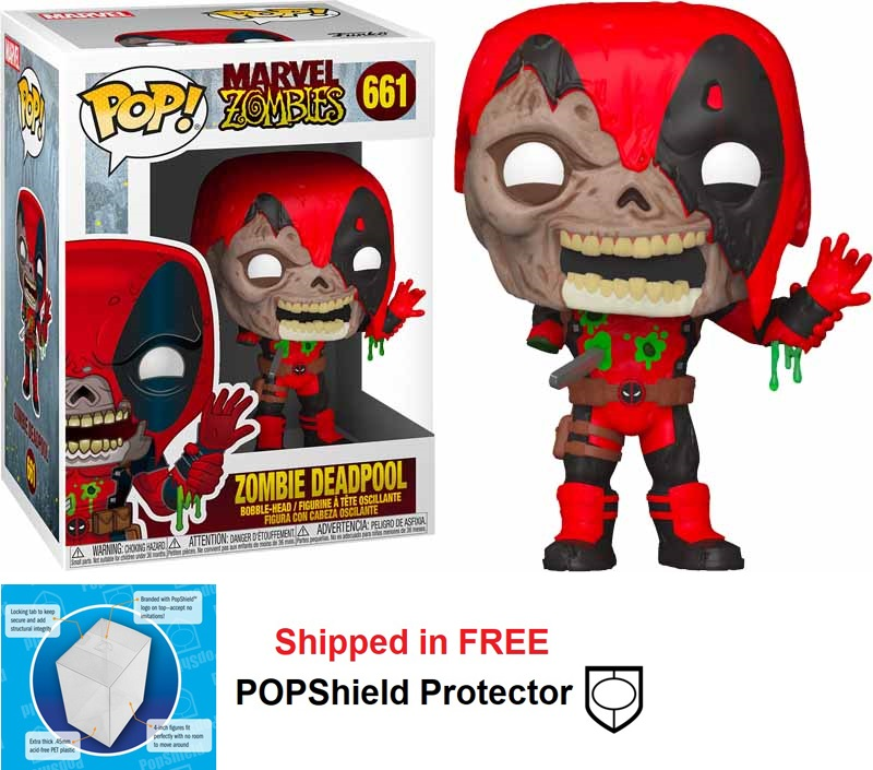 Funko POP Marvel Zombies Deadpool - #661