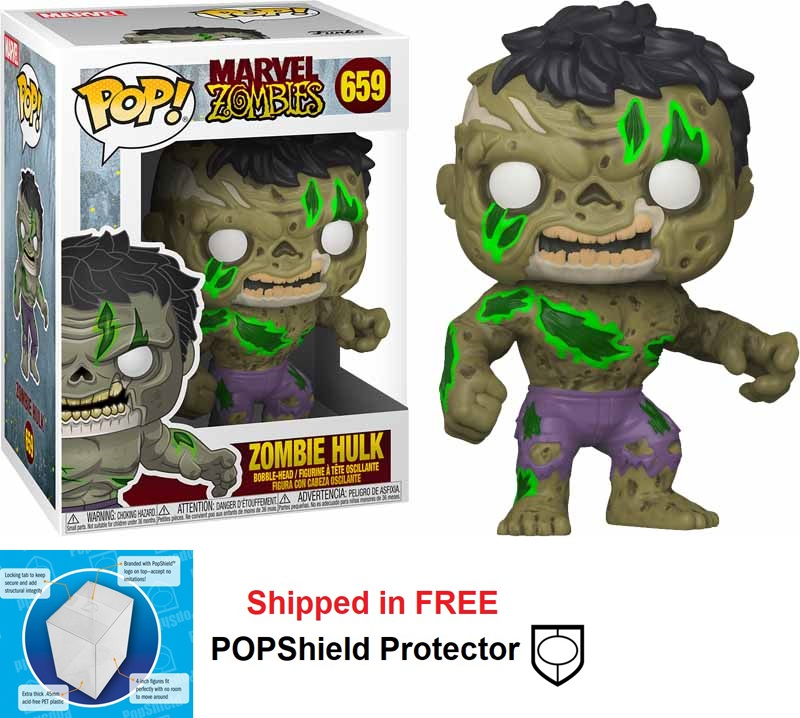 Funko POP Marvel Zombies Hulk - #659