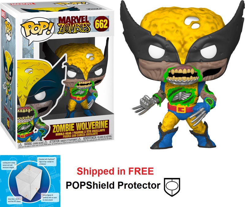 Funko POP Marvel Zombies Wolverine - #662
