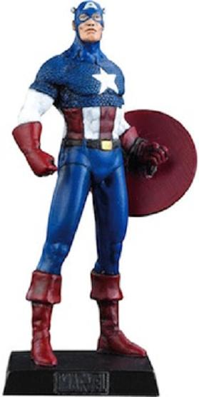 Eaglemoss Marvel Comics Captain America Lead Figurine