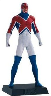 Eaglemoss Marvel Comics Captain Britain Lead Figurine