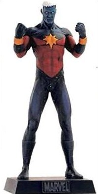 Eaglemoss Marvel Comics Captain Marvel Lead Figurine