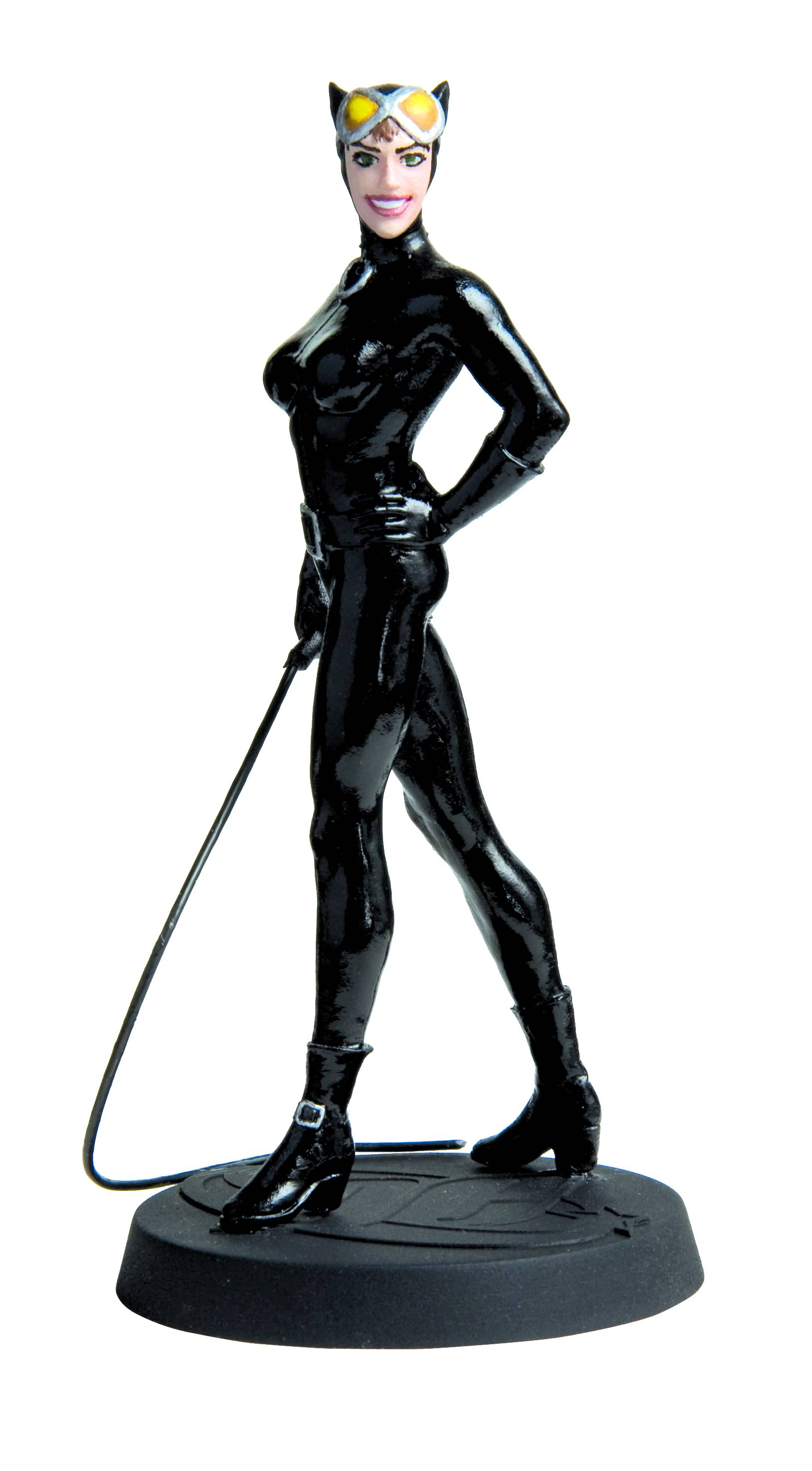 Eaglemoss Dc Comics Catwoman Lead Figurine Dc Comics ...
