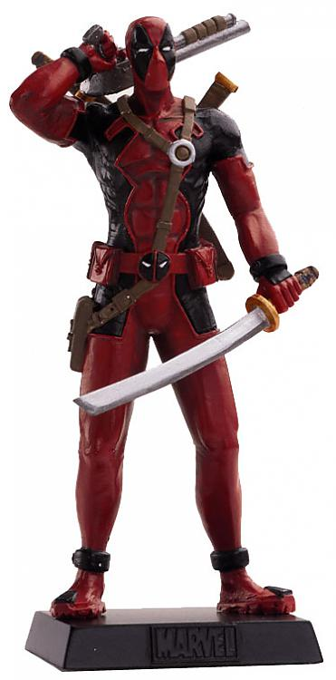 Eaglemoss Marvel Comics Deadpool Lead Figurine
