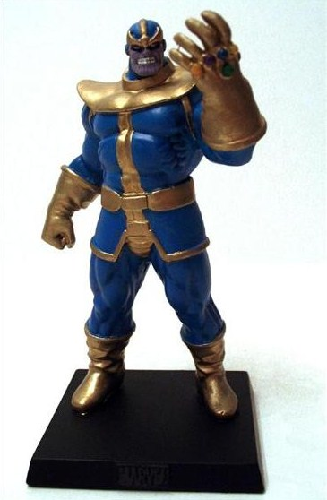Eaglemoss Marvel Comics Thanos Lead Figurine